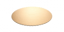 Vassoio torta DELÍCIA  ø 30 cm, oro, 2 pz