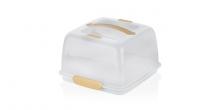 Porta torte con tavoletta refrigerante DELÍCIA 28x28 cm