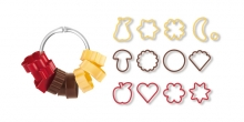 Traditional cookie cutters DELÍCIA, 13 pcs