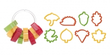 Autumn cookie cutters DELÍCIA, 8 pcs