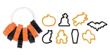 Halloween cookie cutters DELÍCIA, 8 pcs