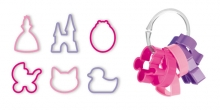 Cookie cutters for girls DELÍCIA KIDS, 6 pcs