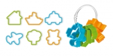 Cookie cutters for boys DELÍCIA KIDS, 6 pcs