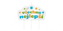 Vela de aniversário DELÍCIA KIDS, Všechno nejlepší