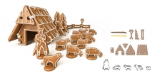 Gingerbread chalet DELÍCIA, set of cookie cutters