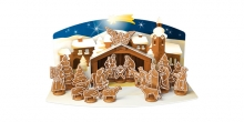 Gingerbread Christmas Nativity Scene DELÍCIA, set of cookie cutters
