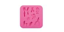 Silicone moulds DELÍCIA DECO, for girls