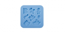 Silicone moulds DELÍCIA DECO, for boys