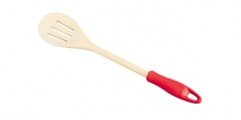 Slotted stirring spoon PRESTO WOOD