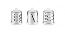 Grating drums for drum grater HANDY, 3 pcs