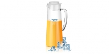 Refrigerator pitcher TEO 1.0 l