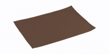 Place mat FLAIR CLASSIC 45x32 cm, chocolate