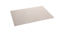 Place mat FLAIR RUSTIC 45x32 cm, pearl