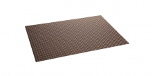 Place mat FLAIR RUSTIC 45x32 cm, brown