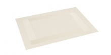 Place mat FLAIR FRAME 45x32 cm, cream