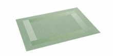 Place mat FLAIR FRAME 45x32 cm, green