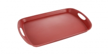 Tray FANCY HOME 44 x 30 cm, raspberry