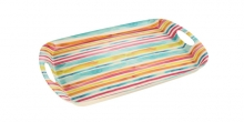 Tray FANCY HOME 44 x 30 cm, stripes