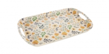 Tray FANCY HOME 44 x 30 cm, meadow