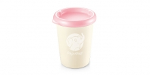 Container PAPU PAPI 250 ml, 2 pcs, pink