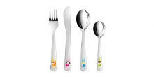 Children´s cutlery BAMBINI, fairies, 4 pcs