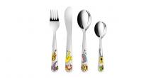 Children's cutlery BAMBINI, musicians, 4 pcs