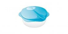 Travel dish with spoon BAMBINI