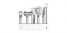 Barmen's Utensils BARBAR, 6 pcs