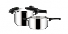 Pressure cooker GREEN CONTROL DUO 4.0 and 6.0 l
