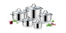 Cookware set AMBITION,10 pcs