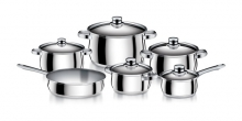 Cookware set TRIUMPH, 11 pcs