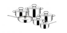 Набір неіржавіючого посуду PRAKTIK 11 предметів