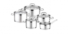 Cookware set HOME PROFI, 9 pcs