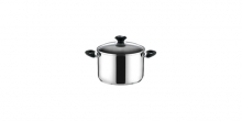 Deep pot PRESTO with cover, ø 14 cm, 1.5 l