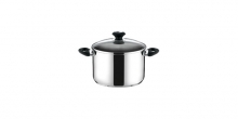 Deep pot PRESTO with cover, ø 16 cm, 2.0 l
