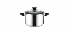 Deep pot PRESTO with cover, ø 20 cm, 4.0 l