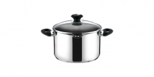 Deep pot PRESTO with spout and cover, ø 20 cm, 3.5 l