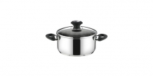 Casserole PRESTO with cover, ø 16 cm, 1.5 l