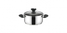 Casserole PRESTO with cover, ø 18 cm, 2.0 l