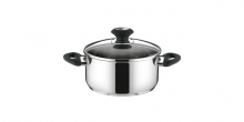 Casserole PRESTO with cover, ø 20 cm, 3.0 l