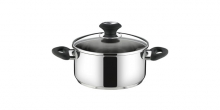 Casserole PRESTO with cover, ø 22 cm, 4.0 l