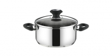 Casserole PRESTO with cover, ø 24 cm, 5.0 l