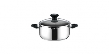 Casserole PRESTO with spout and cover, ø 18 cm, 2.0 l