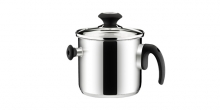Double-wall simmer pan PRESTO with cover, ø 16 cm, 2.0 l