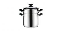 Spaghetti pot PRESTO with cover, ø 22 cm