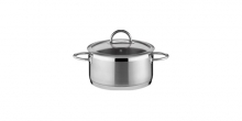 Casserole VISION ø16 cm with cover, 1,5 l