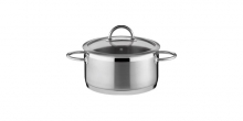 Casserole VISION ø20 cm with cover, 3.0 l