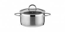 Casserole VISION ø26 cm with cover, 6,5 l