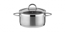 Casserole VISION ø28 cm with cover, 8,5 l