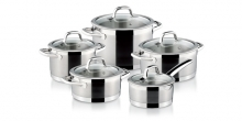 Cookware set PRESIDENT, 10 pcs